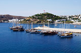 Boats in Bodrum marina