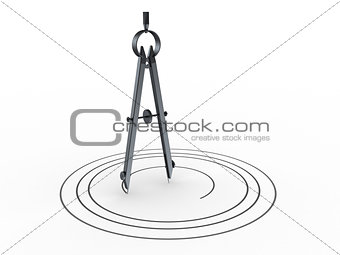 circle drawing compass