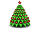 symbolic xmas tree