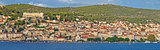 Town of Sibenik waterfront panorama