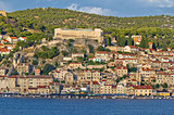 Town of Sibenik historic waterfront