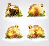 christmas balls design