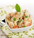 Shrimps And Pasta
