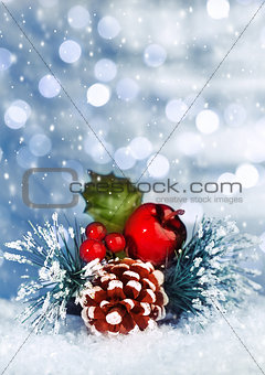 Christmastime still life