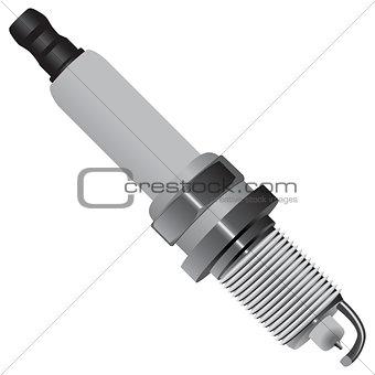 Automotive spark plug