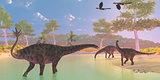 Spinophorosaurus Dinosaur River
