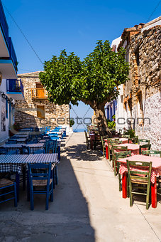 Alonissos Greek Island Street