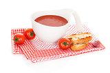 Tomato soup.