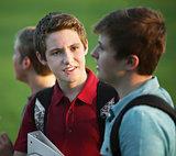 Two Teen Boys Talking