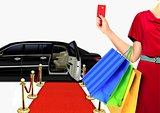 Women with Luxury Lifestyle Shopping