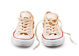 sneakers isolated on white