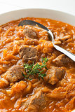 Cabbage stew- goulash
