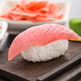 Nigiri sushi with tuna
