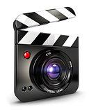 3d camera clapper board