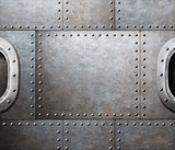 steam punk abstract metal background