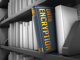 Data Encryption - Title of Book.