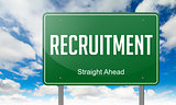Recruitment on Highway Signpost.