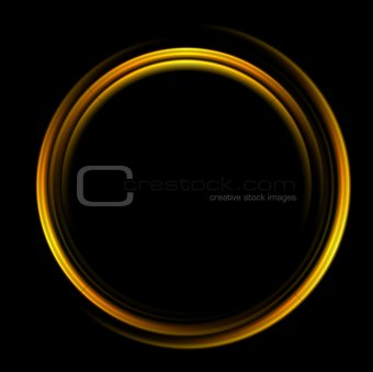 Bright abstract circle logo background