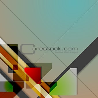 Abstract hi-tech geometry background