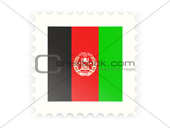 Postage stamp icon of afghanistan