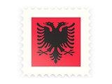 Postage stamp icon of albania