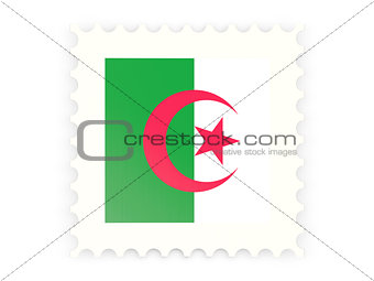 Postage stamp icon of algeria
