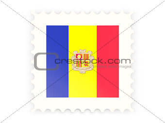 Postage stamp icon of andorra