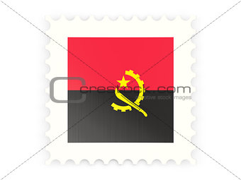 Postage stamp icon of angola