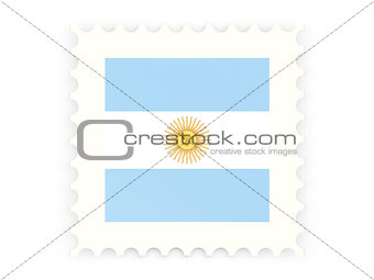 Postage stamp icon of argentina