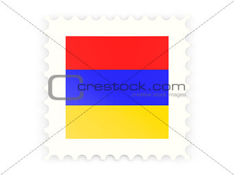 Postage stamp icon of armenia