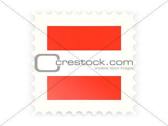 Postage stamp icon of austria