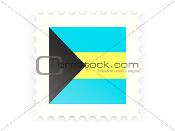 Postage stamp icon of bahamas