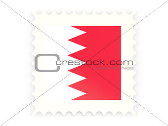 Postage stamp icon of bahrain