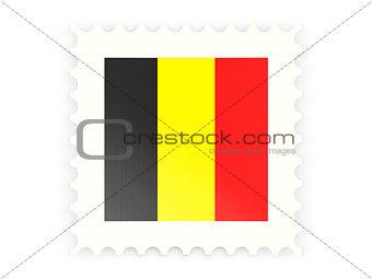Postage stamp icon of belgium