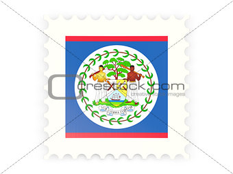 Postage stamp icon of belize