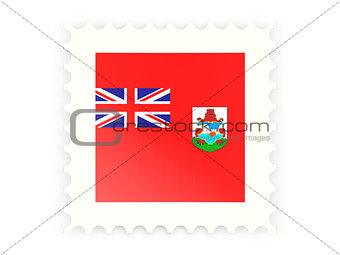 Postage stamp icon of bermuda