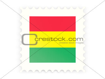 Postage stamp icon of bolivia