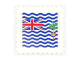Postage stamp icon of british indian ocean territory