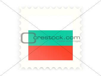 Postage stamp icon of bulgaria