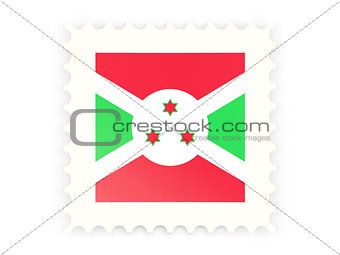 Postage stamp icon of burundi