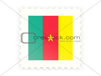 Postage stamp icon of cameroon