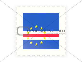 Postage stamp icon of cape verde