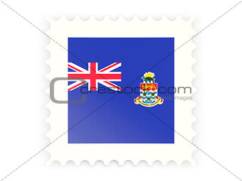 Postage stamp icon of cayman islands