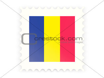 Postage stamp icon of chad