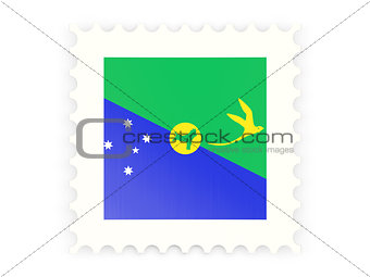 Postage stamp icon of christmas island