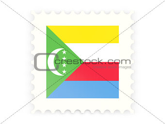 Postage stamp icon of comoros