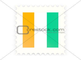Postage stamp icon of cote d'Ivoire