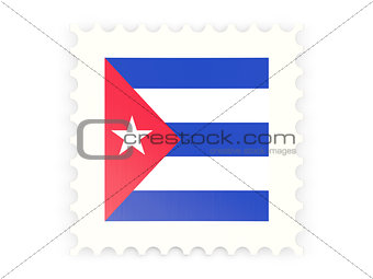 Postage stamp icon of cuba