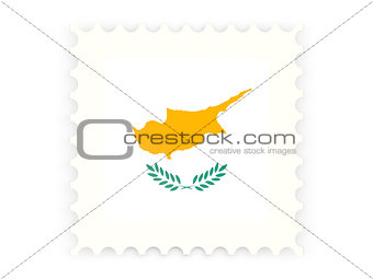 Postage stamp icon of cyprus