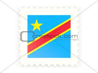 Postage stamp icon of democratic republic of the congo